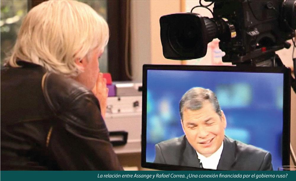 ECUADOR FINANCIA CON GASTOS RESERVADOS EL ESPIONAJE DE JULIAN ASSANGE