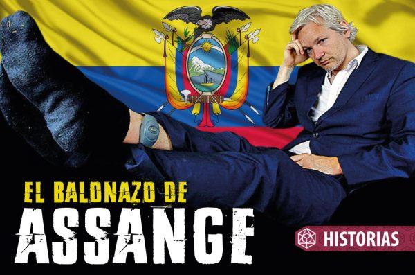 EL BALONAZO DE ASSANGE