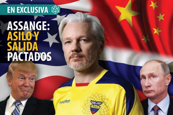 ASSANGE: ASILO Y SALIDA PACTADOS