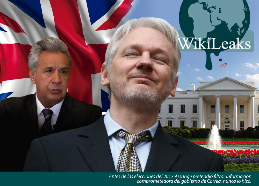 LA SALIDA DE ASSANGE: SILENCIO GLOBAL