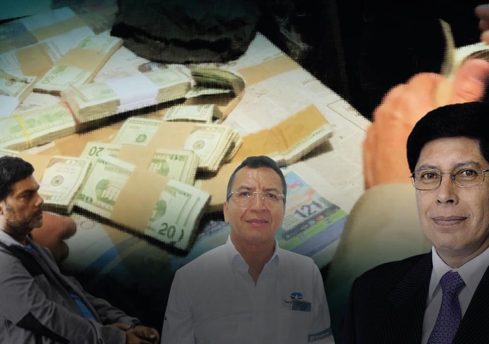 ACUSADOS DE CORRUPCIÓN PETROLERA SALEN EN LIBERTAD