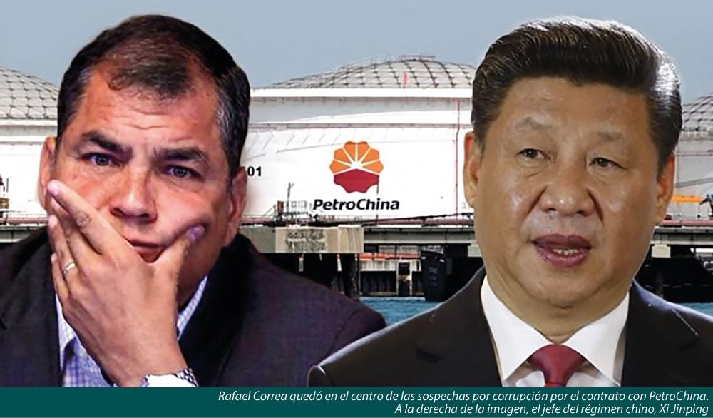 LOS NEGOCIADOS ENTRE RAFAEL CORREA Y CHINA