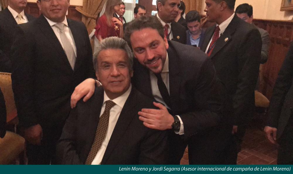 ¿QUIÉN PAGÓ AL COSTOSO ASESOR DE CAMPAÑA, JORDI SEGARRA?