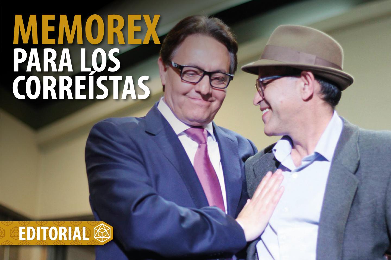 MEMOREX PARA LOS CORREÍSTAS