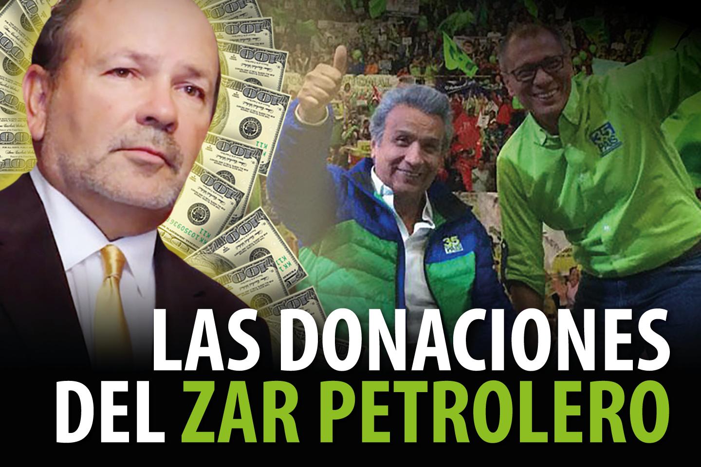 LAS DONACIONES DEL ZAR PETROLERO
