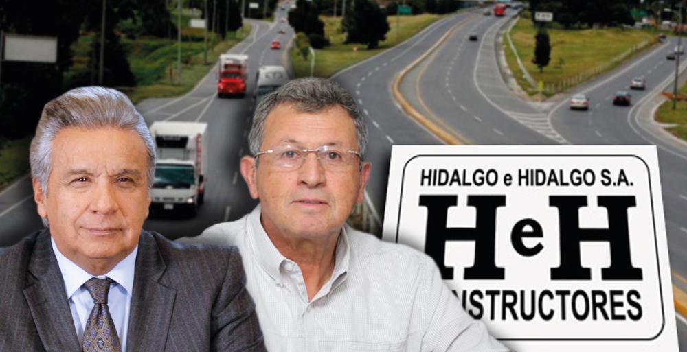 LENÍN MORENO Y AURELIO HIDALGO LE HACEN CAMINO A HIDALGO & HIDALGO
