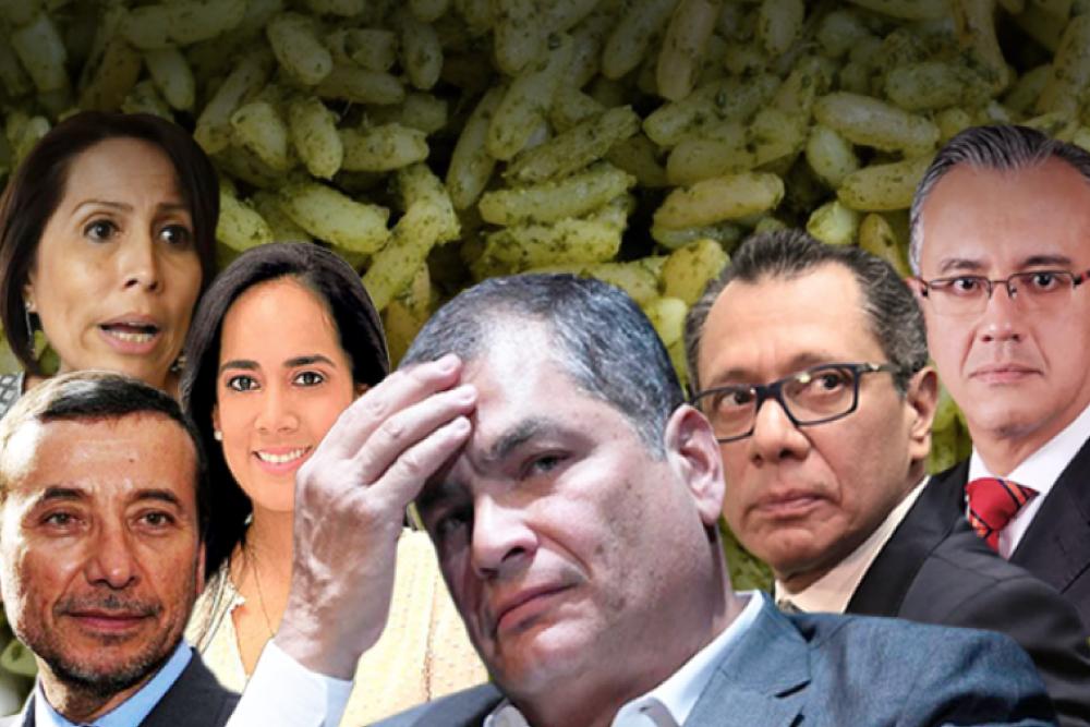 FISCALÍA VINCULA A CORREA Y A 21 PERSONAS EN CASO ARROZ VERDE