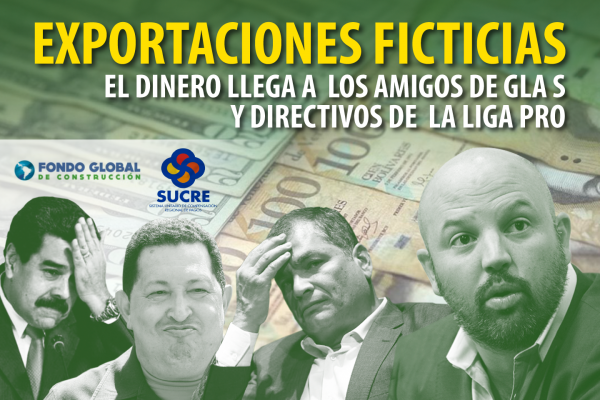 EXPORTACIONES FICTICIAS: EL DINERO LLEGA A LOS AMIGOS DE GLAS Y DIRECTIVOS DE LA LIGA PRO
