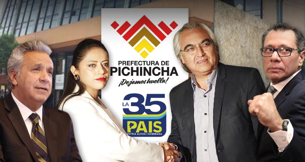 PREFECTURA DE PICHINCHA, LA CAJA CHICA DE ALIANZA PAIS