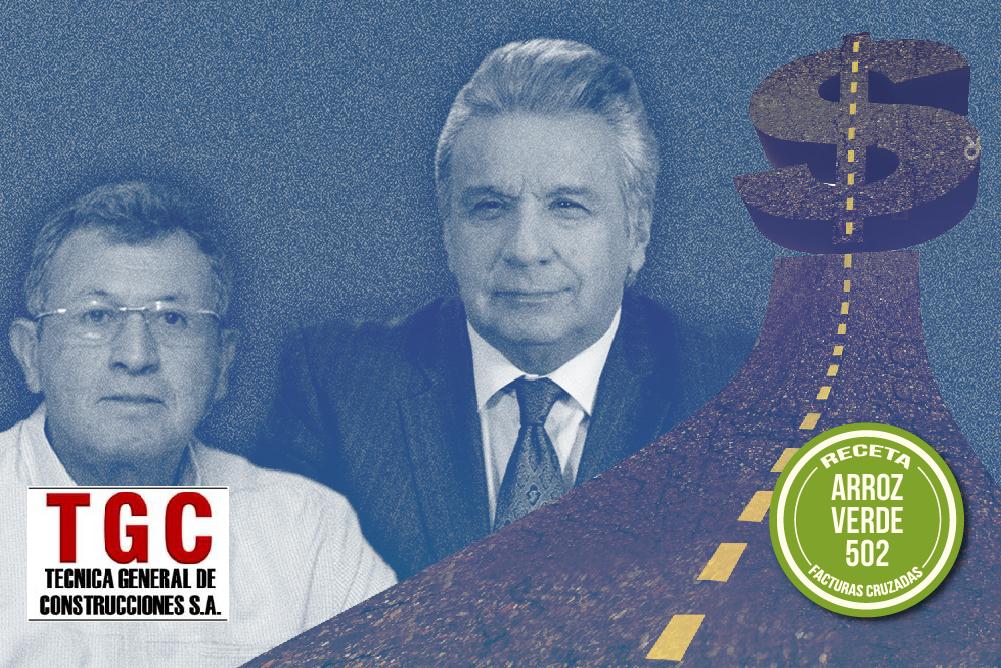 GOBIERNO DE MORENO ENTREGA NUEVO CONTRATO A TGC VINCULADA EN CASO ARROZ VERDE