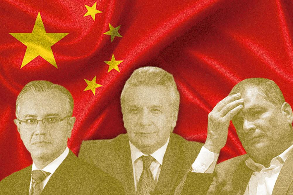 ALEXIS MERA, ENRIQUE CADENA Y LA DEUDA CHINA
