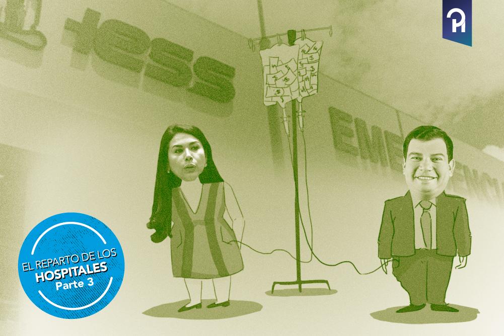 La tragedia en Los Ríos con la cuota política en los hospitales del IESS