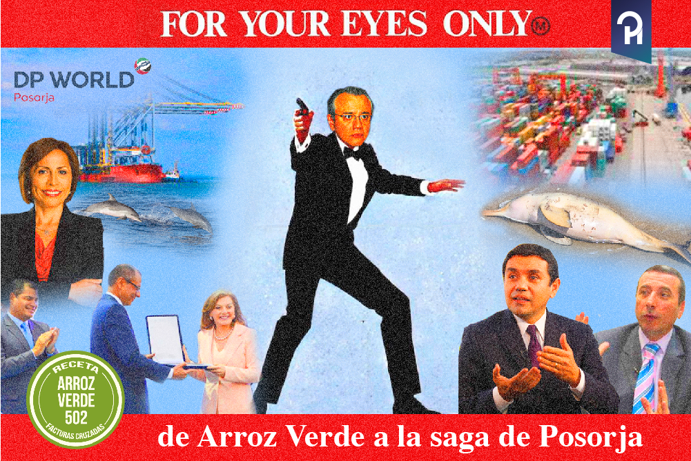 FOR YOUR EYES ONLY:  DE ARROZ VERDE A LA SAGA DE POSORJA