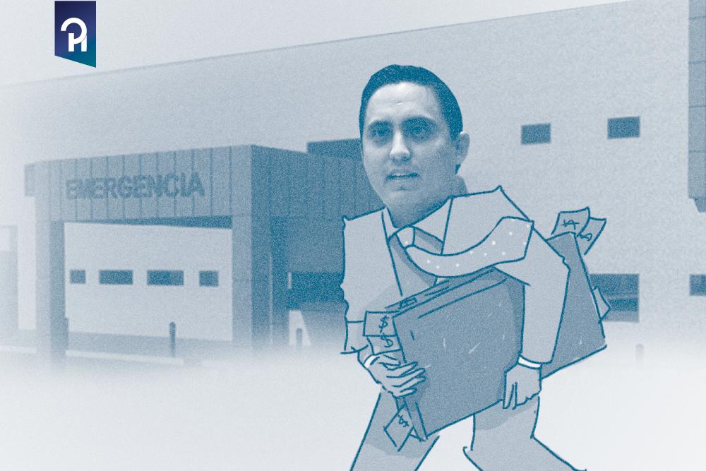 VACIARON LA CUENTA DEL HOSPITAL DE PEDERNALES