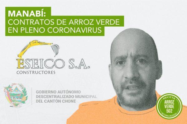 MANABÍ: CONTRATOS DE ARROZ VERDE EN PLENO CORONAVIRUS