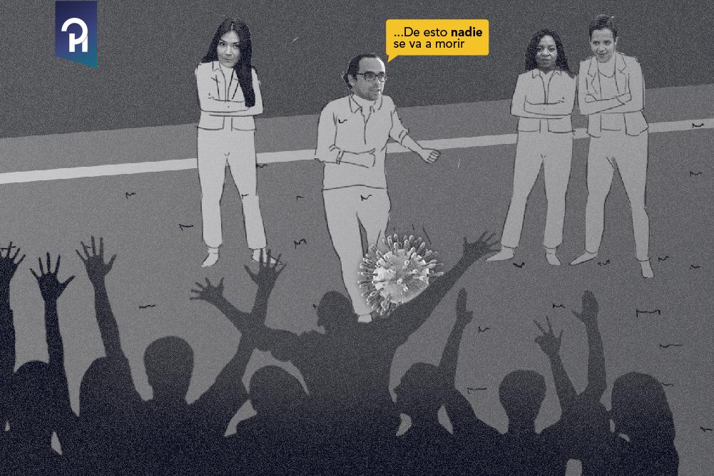CORONAVIRUS: JUEGUEN SEÑORES, «DE ESTO NADIE SE VA A MORIR»