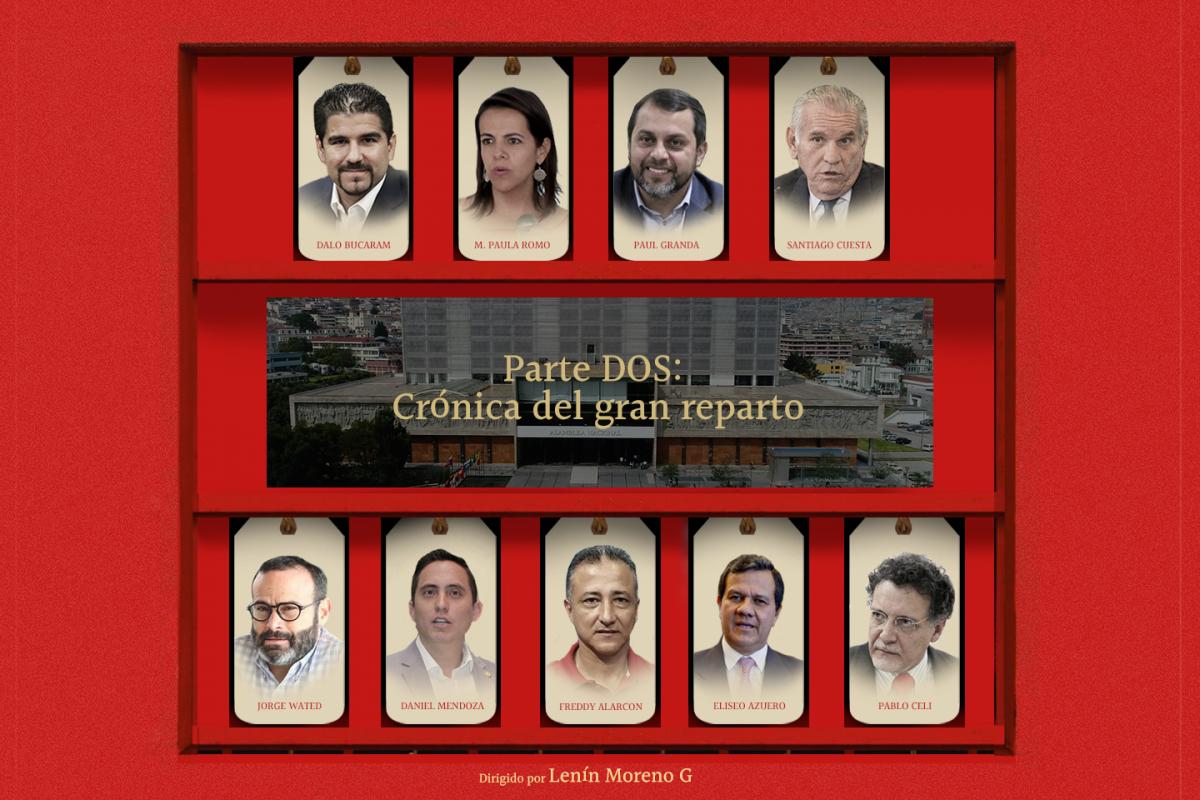 PARTE II: CRÓNICA DEL GRAN REPARTO