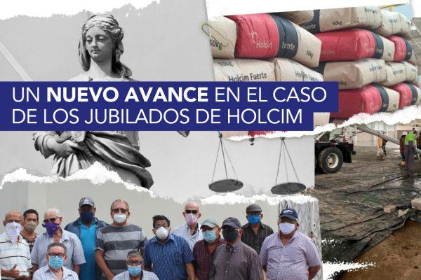 UN NUEVO AVANCE EN EL CASO DE LOS JUBILADOS DE HOLCIM