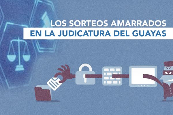 LOS SORTEOS AMARRADOS EN LA JUDICATURA DEL GUAYAS