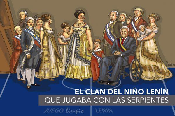 EL CLAN DEL NIÑO LENÍN QUE JUGABA CON LAS SERPIENTES