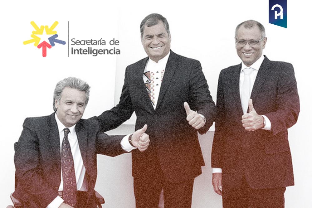 CORREA FINANCIÓ SEGUNDA VUELTA DE LENÍN Y GLAS CON DINERO DE LA SENAIN