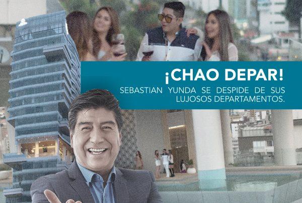 ¡CHAO DEPAR! SEBASTIAN YUNDA SE DESPIDE DE SUS LUJOSOS DEPARTAMENTOS